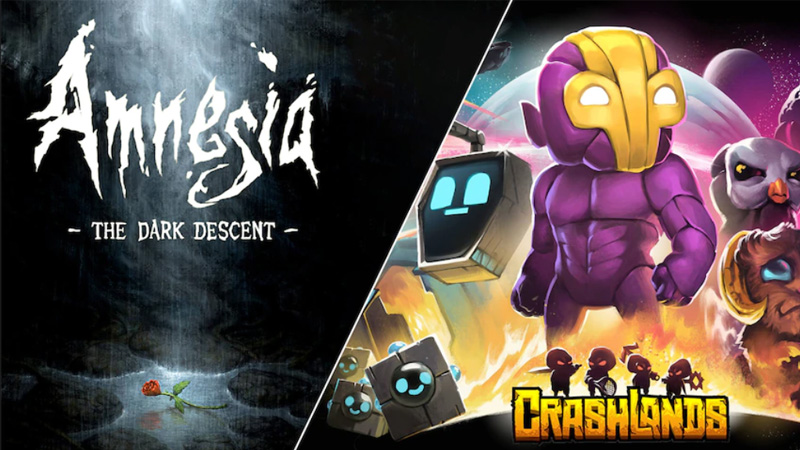 Amnesia - The Dark Descent e Crashlands estão gratuitos na Epic Games