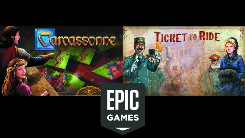 Carcassonne e Ticket to Ride