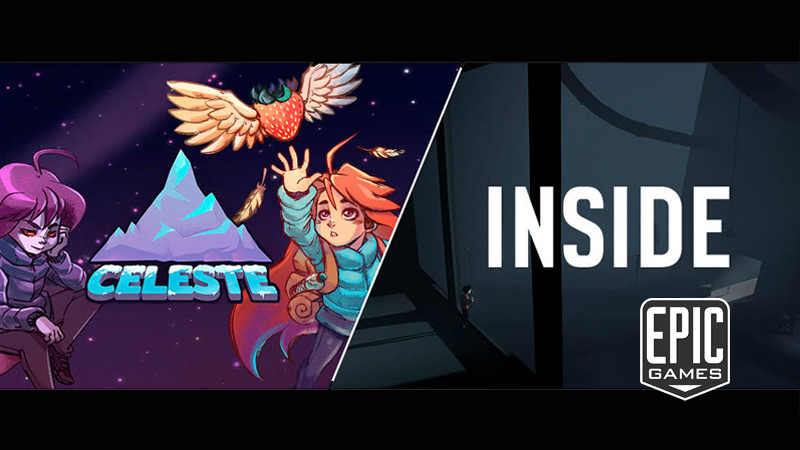 Celeste e Inside na Epic Games