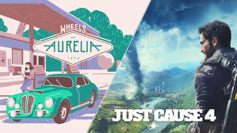 Just Cause 4 e Wheels Of Aurelia