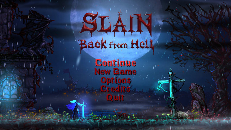 Slain - Back From Hell
