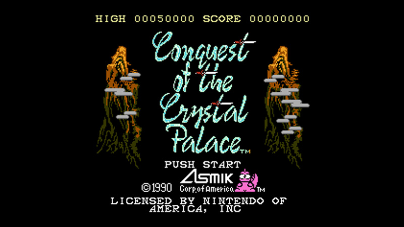 Conquest of the Crystal Palace / Asmik Corporation (Central MiB)