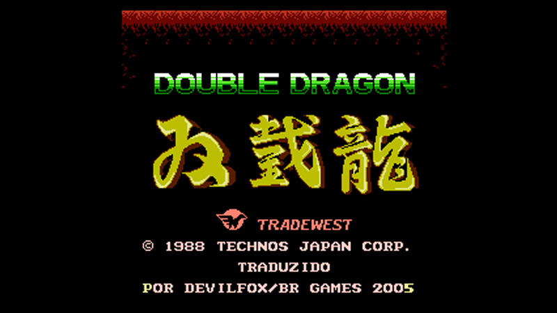 Double Dragon / Technos (BR Games)