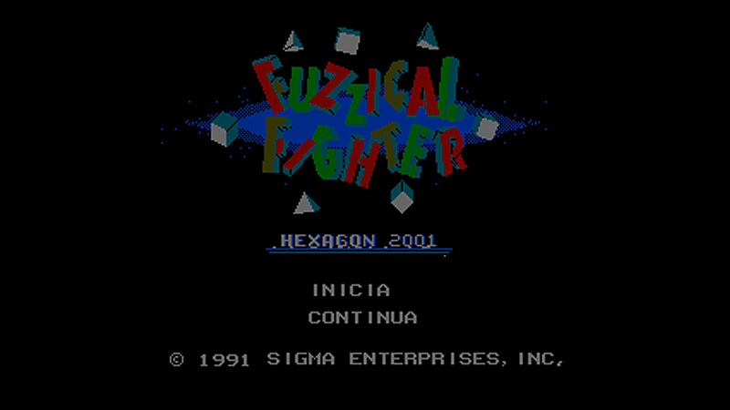 Fuzzical Fighter / Sigma Enterprises
