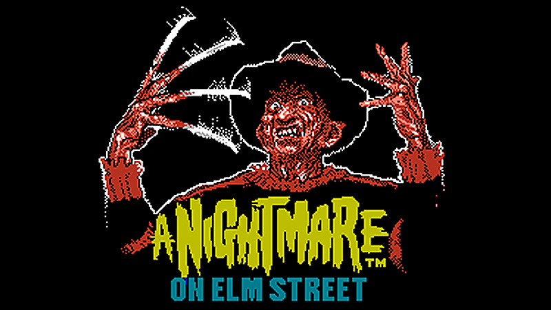 Nightmare On Elm Street, A / LJN Ltd e Rare (BR Games)